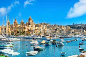 Port de la Valette à Malte