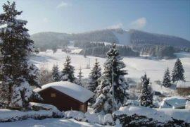 village montagne hiver