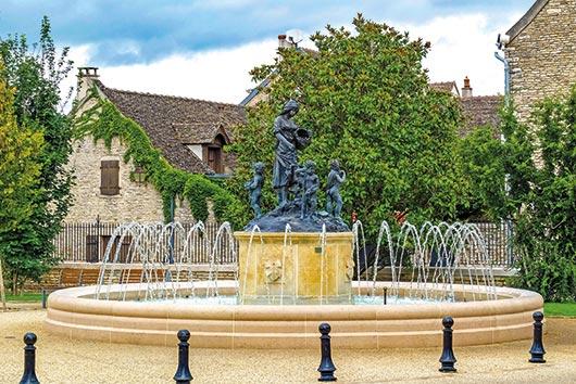 fontaine en Bourgogne