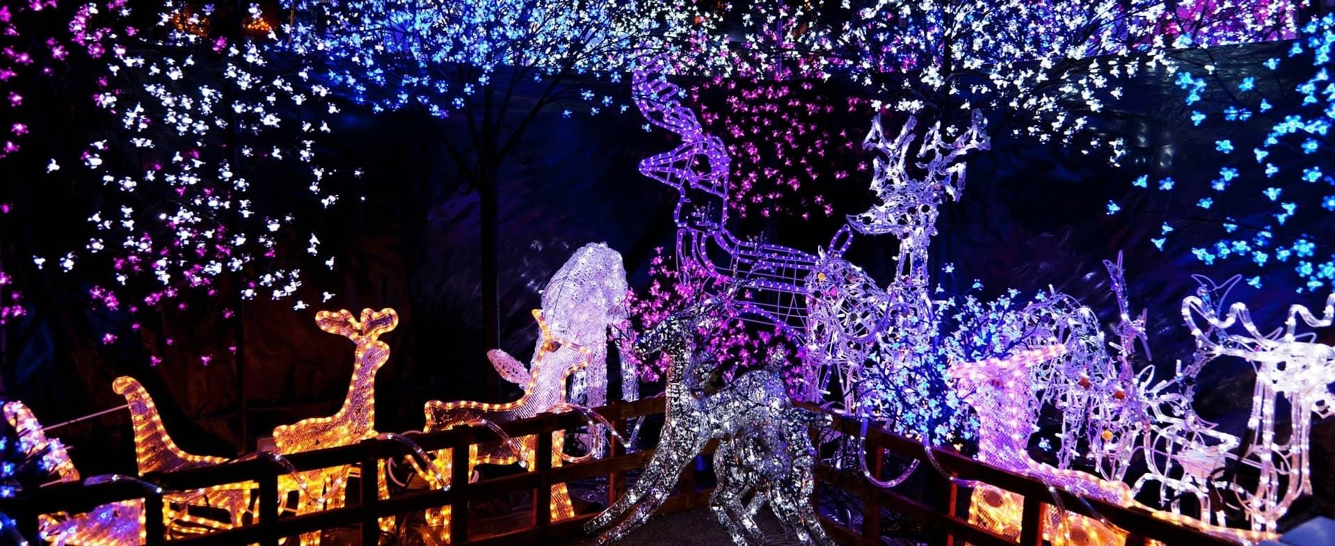 illluminations de Noël
