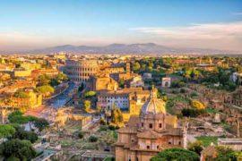 vue de la rome antique