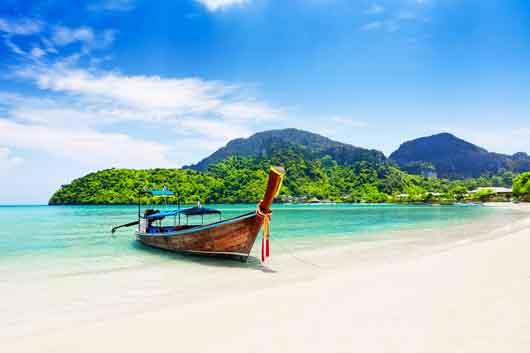 bateau traditionnel thailandais